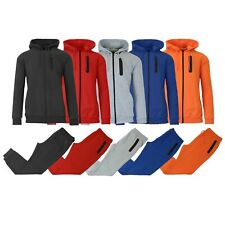 Men's Slim Fitting French Terry Hoodie & Jogger 2-Piece Set S M L XL 2XL NEW