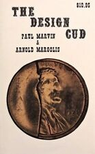 THE DESIGN CUD (ERROR COIN COLLECTING) 1st EDITION S/C NO D/J P. MARVIN & P. MAR