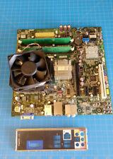 LGA 775 Socket T Motherboard w/ CPU & DDR2 RAM, Dell Inspiron 518 DG33M04 K068D
