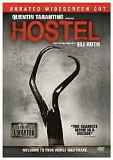 Mint DVD Hostel (Unrated Widescreen Cut) Quentin Tarantino Eli Roth Scary DVD