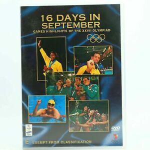 16 DAYS IN SEPTEMBER - 2000  SYDNEY OLYMPICS  - GAMES HIGHLIGHTS