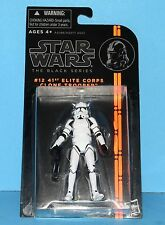 HASBRO Star Wars Black Series Action Figure # 12 SW EPIII CLONE TROOPER 41ST