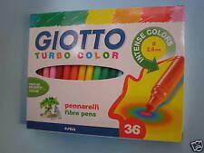 Pennarelli giotto turbo color 36 colori per scuola e disegno ufficio