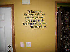 Large Government Republican thomas jefferson wall decor