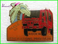 Pin's pins Badge Le Paris DAKAR Camion Truck 92 Rouen #F1