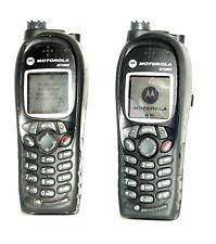 Motorola MTH800 Handheld Portable UHF Tetra Radio - PAIR