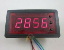 12V 4 digital Red LED Counter Meter Panel Down Minus Relay ON/OFF Output Control