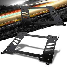 2x Mild Steel Racing Seat Base Mount Bracket Adapter For 99-05 E46 3-Series/M3