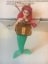 Princess Arial Little Mermaid Disney Grolier Christmas Magic Ornament New In Box