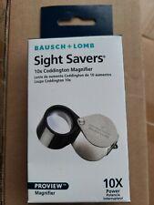 Bausch & Lomb Coddington Loupe Magnifier 10X ,New