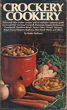 Crockery Cookery by Mable Hoffman (1981)