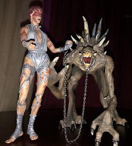 Mcfarlane Toys Curse Of The Spawn Jessica Priest & Mr Obersmith Figure VTG