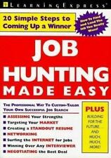 Job Hunting Made Easy Learning Express Editors Paperback