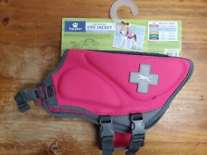 Top Paw Pink Life Jacket Brand New Size Small
