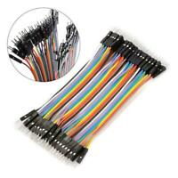 40pcs Dupont 10CM Male To Male Jumper Wire Ribbon Cable for Breadboard Ardu N2J2