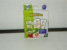 LeapFrog LeapSchool Addition Flash Cards for Grades K-1 Pack of 80