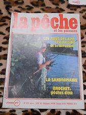 REVUE - La pêche et les poissons - n° 445, juin 1982