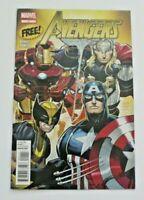 Marvel Free Sampler The Avengers Comic Book #1 Romita Bendis 2012