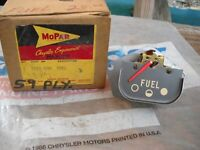NOS MOPAR 1959 PLYMOUTH FUEL GAUGE SAVOY FURY SPORT 1879409