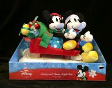 "Disney Mickey & Minnie Sleigh Ride 2008 ""Here Comes Santa Claus""  Sings & Moves"