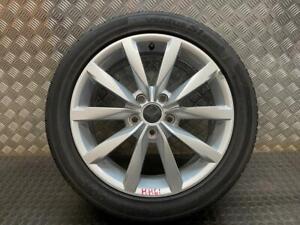 "GENUINE VW GOLF MK7 DIJON 17"" ALLOY WHEEL RIM AND TYRE 5G0 601 025CH (HH61)"