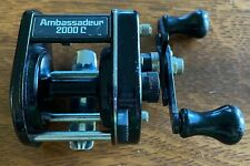 Vintage ABU GARCIA AMBASSADEUR 2000C Baitcasting Fishing Reel