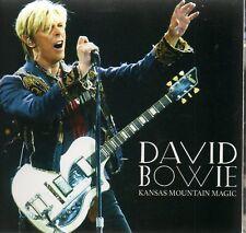 DAVID BOWIE - KANSAS MOUNTAIN MAGIC (KANSAS CITY 2004) - 2CD CARDBOARD SLEEVE
