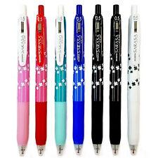 Envío gratuito 5 Colores Mezclados Zebra Sarasa Clip Kumamon 0.5mm Bolígrafo Roller