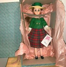 """Madame Alexander Vinyl Maggie 17"""" doll  with Box and Wrist tag."""