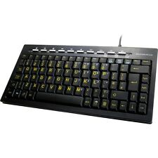 Kyb-minihivishub Accuratus Minihivis USB Mini Multimedia Keyboard With Hivis KE