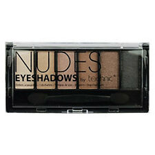 Technic Eyeshadows Palette 6 Colour Shade Eye Shadows Compact Nude Sultry Matte