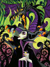 Forces of Evil - Maleficent & Dragon 8x10 Fabric Block - BUY 2 AT $15 GET 1 FREE