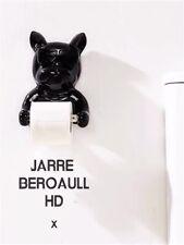 Frenchie Bulldog Toilet Roll Paper Hanger Holder Bathroom