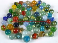 Lot of ~55 Vintage Cat's Eye Marbles Various Sizes (lot 3)