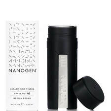 Nanogen Hair Thickening Fibres Medium Brown 30g 2 months supply Natural Keratin