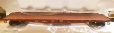 Bowser #41407 Leight Valley (Rd #10046) 50' Flat Car (HO Scale) RTR