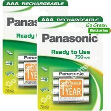 Piles rechargeables Panasonic pour équipement audio et vidéo AAA