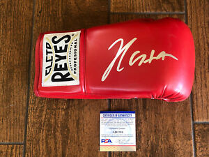 Julio Cesar Chavez Autographed Cleto Boxing Glove Hall of Famer Signed PSA Right