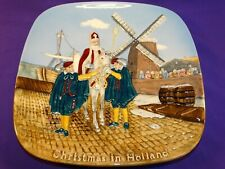 1976 Beswick Royal Doulton England Christmas Around The World Plate #5 Holland