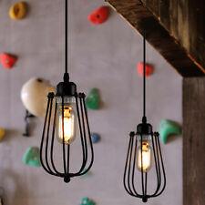 E27 Metall Iron Vintage Industrial Retro Hängeleuchte Deckenlampe Industrielampe
