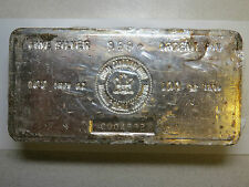 100 troy oz SILVER BAR ROYAL CANADIAN MINT RCM 999+ FINE SILVER VINTAGE BAR