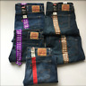Levi's Men's 505 Regular Fit Stretch Straight Leg Jeans Size&Color:Variety NWT!
