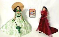 2 Vintage (1994) Legends of Hollywood Scarlet O'Hara Barbies - See Comments
