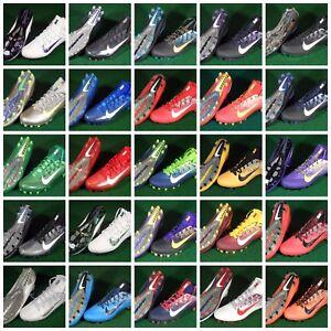 New Nike Vapor Untouchable 2 PE TD Football Cleats Red Blue Green Purple White