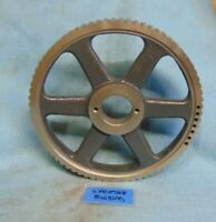 """BROWNING 72LH100 BUSHING BORE TIMING BELT PULLEY 8.564"""" OD, 3/8"""" PITCH, 72 TEETH"""