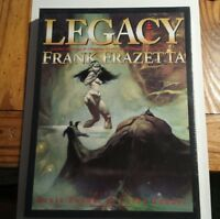 Frank Frazetta Legacy Hardcover HC w/ Slipcase Sealed OOP Underwood Books ?/2500