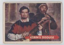 1957 Topps Robin Hood #30 Robin's Disguise Non-Sports Card 0s4