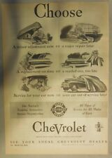 Chevrolet World War Two Production Ad from 1943 from Newspaper Magazine