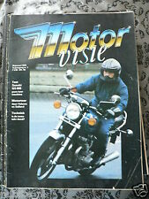 MOTORVISIE DUTCH MOTORCYCLE MAG COMPLETE SET 1979-1983 ABOUT 118 ISSUES