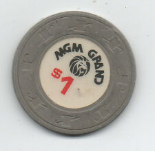 Old One Dollar Poker Chip from MGM Grand